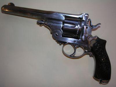 Aux Armes d'Antan - Pistolet et r�volver-Aux Armes d'Antan-Beau revolver syst�me PRYSE