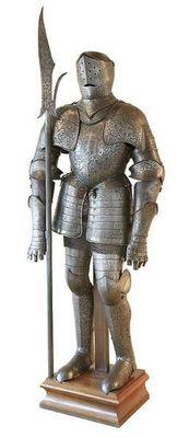 Aux Armes d'Antan - Armure-Aux Armes d'Antan-Armure de style XVI�me si�cle, �poque Viollet le Duc