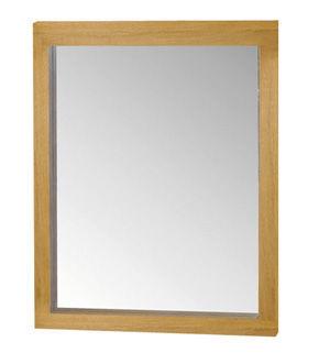 ZAGO - Miroir-ZAGO-Miroir côme en chêne massif  70x6x90cm