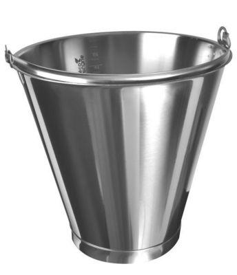 ECO-TRÔNE - Seau-ECO-TRÔNE-Seaux inox de 20 litres