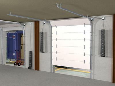 Mantion - Porte de garage sectionnelle-Mantion-SPORTUB - Série 7000 portes sectionnelles