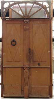 GALERIE MARC MAISON - Porte ancienne-GALERIE MARC MAISON-Double oak door