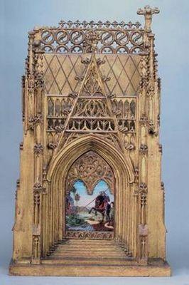 Galerie Charles Sakr - Tabernacle-Galerie Charles Sakr-Tabernacle gothique
