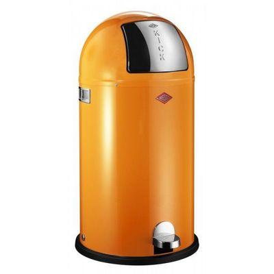 Wesco - Poubelle de cuisine-Wesco-Kickboy 40L orange