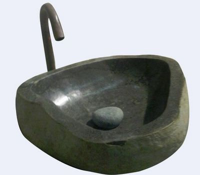 MEMOIRE DES ORIGINES - Vasque à poser-MEMOIRE DES ORIGINES-Vasques pierre taillée