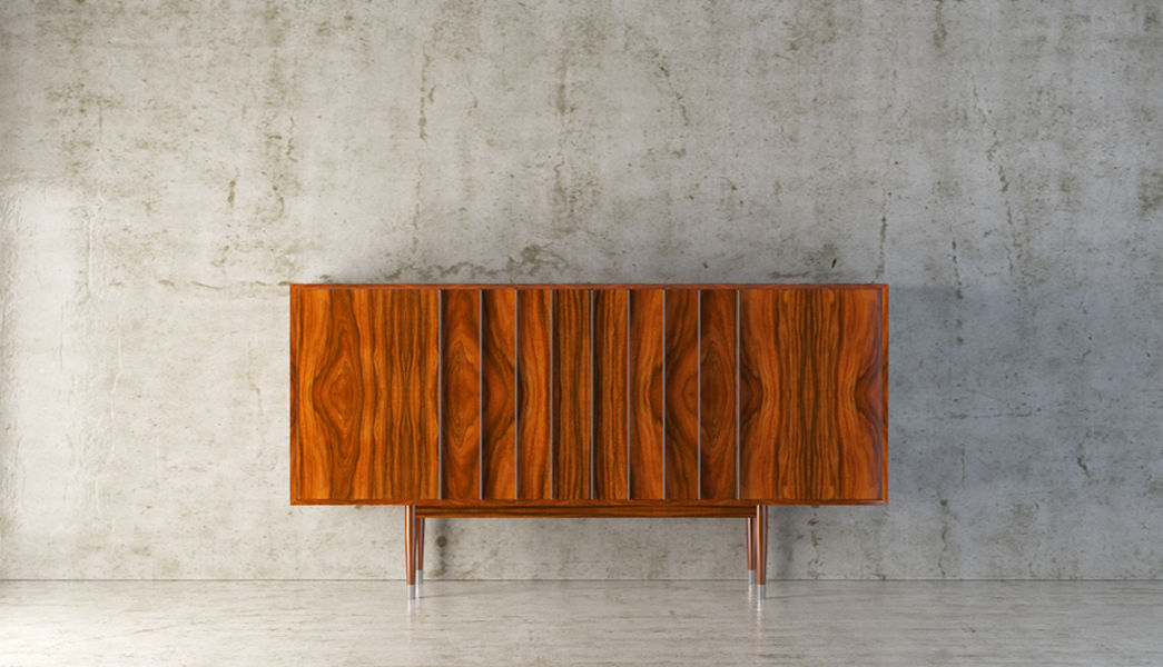 HOMARA Low Chest Cabinets and Buffets Storage  |