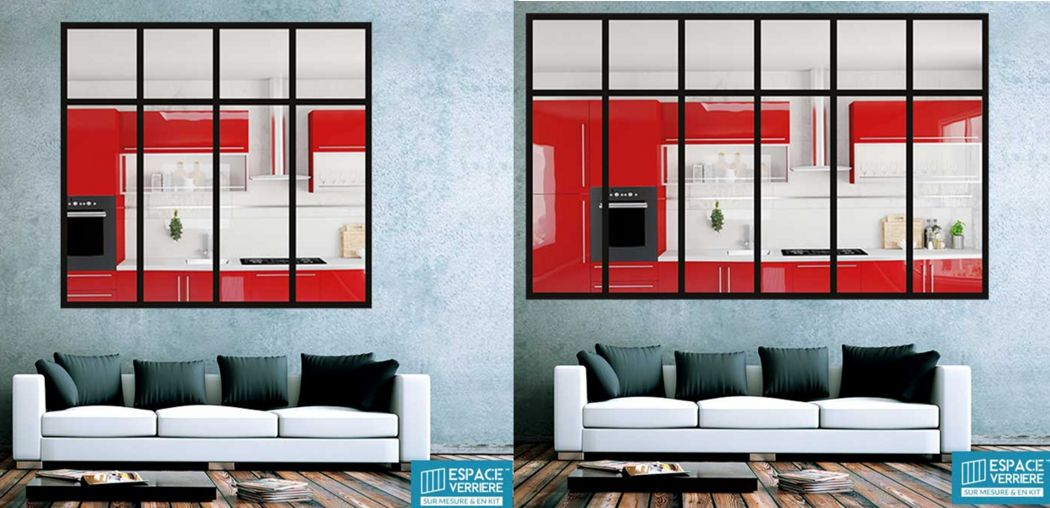 ESPACE VERRIERE Glass walls for interiors Glass Doors and Windows  |