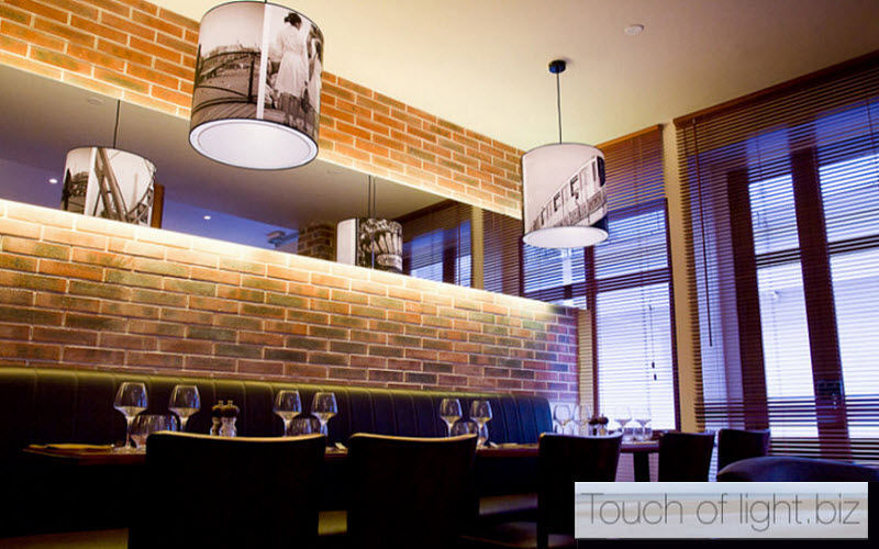 TOUCH OF LIGHT Office Hanging lamp Chandeliers & Hanging lamps Lighting : Indoor Dining room | Contract