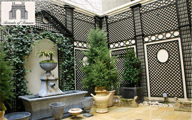 ACCENTS OF FRANCE Trellis Enclosures and trellis-work Garden Gazebos Gates... Balcony-Terrace   Classic