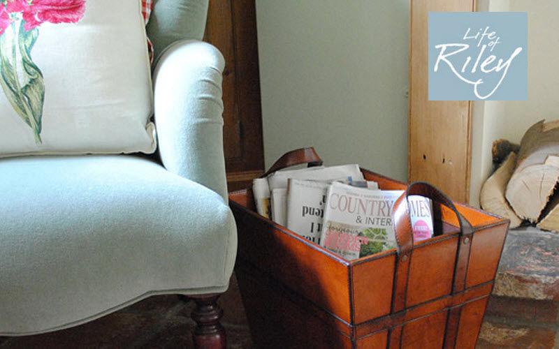 LIFE OF RILEY Magazine holder Small storage items Storage   