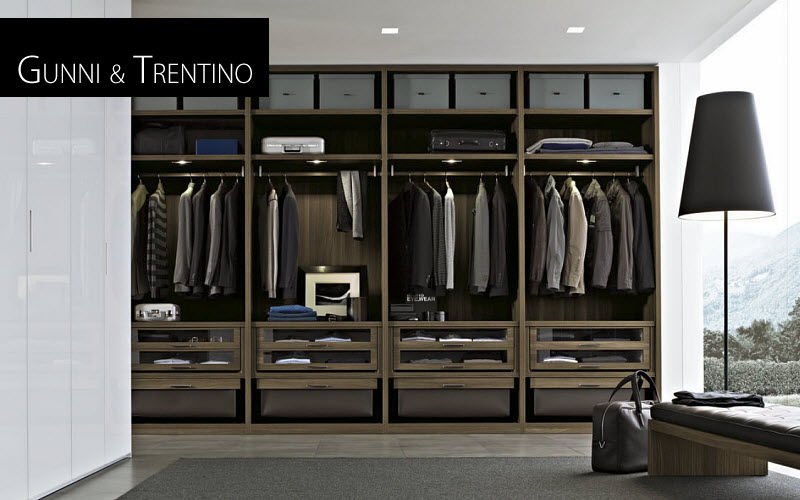 Gunni & Trentino  Dressing rooms Wardrobe and Accessories Bedroom | Contemporary