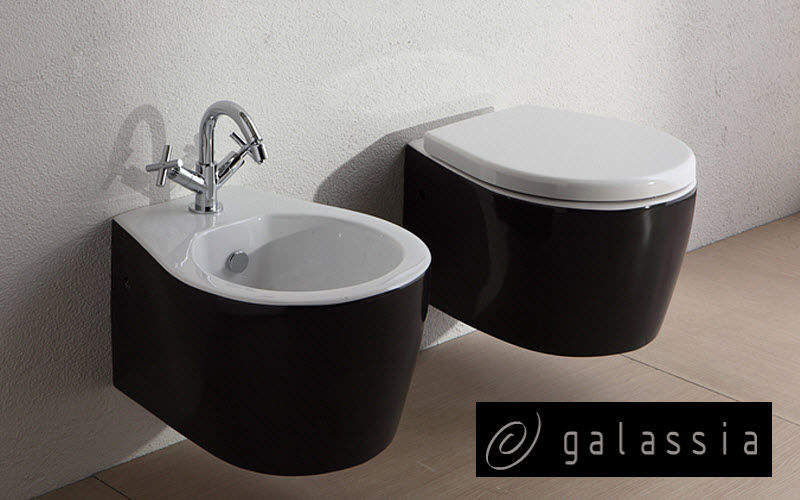 GALASSIA Wall mounted toilet WCs & wash basins Bathroom Accessories and Fixtures  |