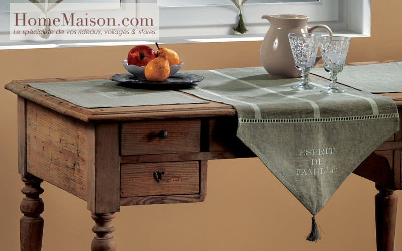 HOMEMAISON.COM Table runner Tablecloths Table Linen Home office | Cottage