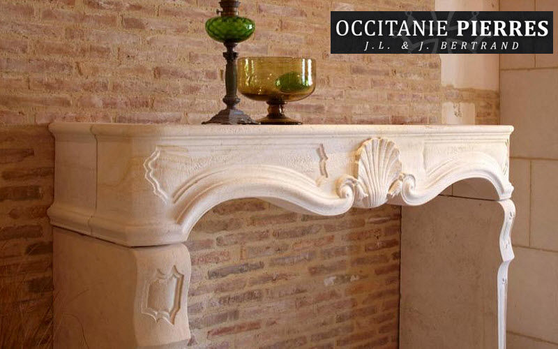 Occitanie Pierres Fireplace mantel Fireplaces Fireplace  |