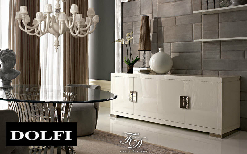 DOLFI Low sideboard Cabinets and Buffets Storage Dining room | Design Contemporary