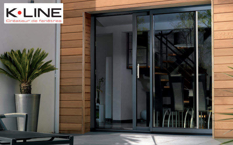 K-LINE Sliding patio door French windows Doors and Windows  |