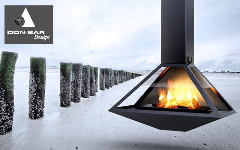Don-Bar Design Central fireplace Fireplaces Fireplace  |