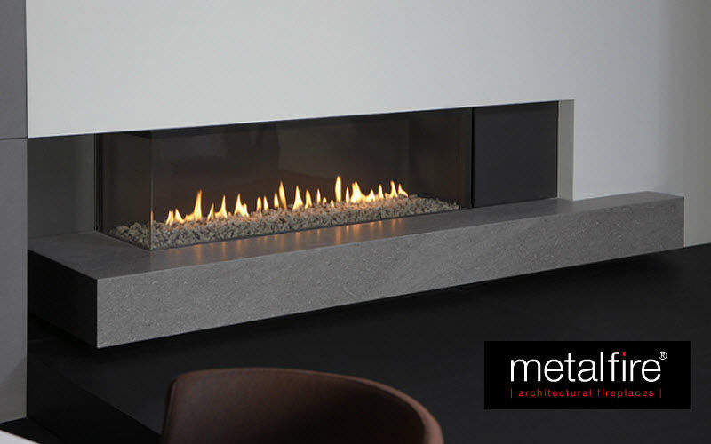 METALFIRE Closed fireplace Fireplaces Fireplace  |