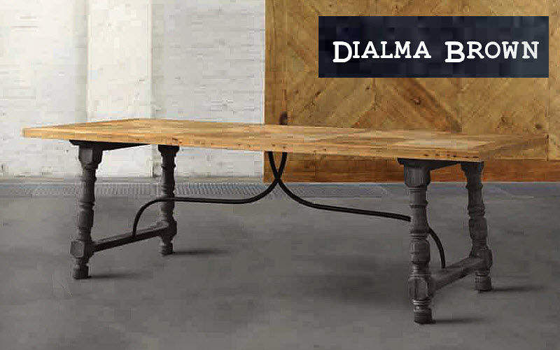 DIALMA BROWN Rectangular dining table Dining tables Tables and Misc.  |