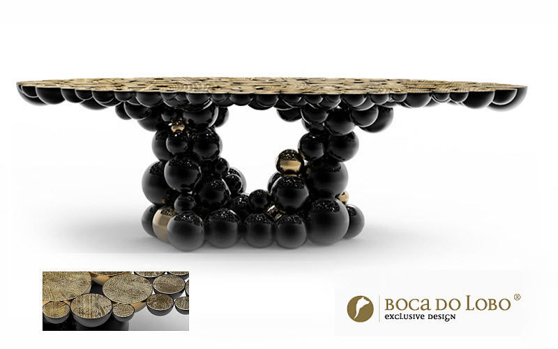 BOCA DO LOBO Round diner table Dining tables Tables and Misc.  |