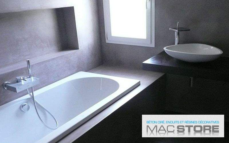 MACSTORE Waxed concrete for wall Alternative wall surfaces Walls & Ceilings  |