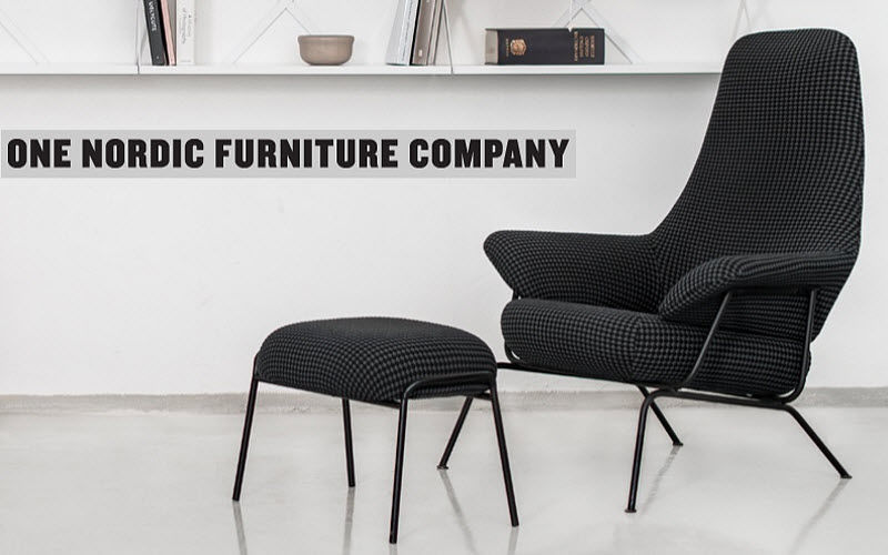 ONE NORDIC Armchair and floor cushion Armchairs Seats & Sofas  |