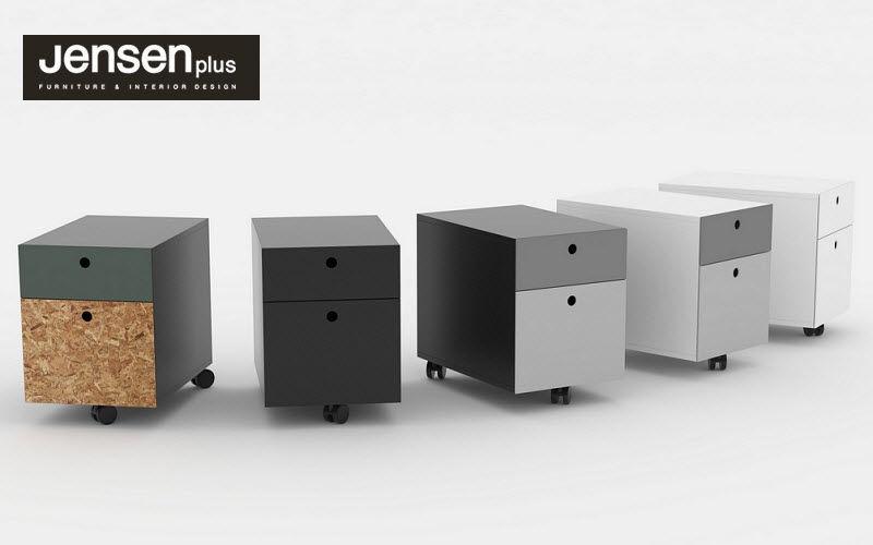 JENSENPLUS Mobile desk drawer unit Cupboards and storage Office  |