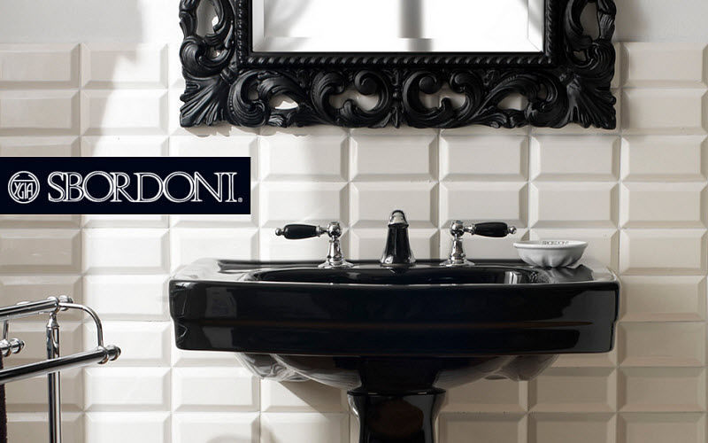 Sbordoni Pedestal washbasin Sinks and handbasins Bathroom Accessories and Fixtures  |