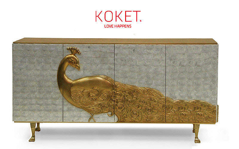 KOKET LOVE HAPPENS Low sideboard Cabinets and Buffets Storage  |