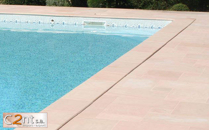 C2nt Pool border tile Kerbs and borders Swimming pools and Spa  |