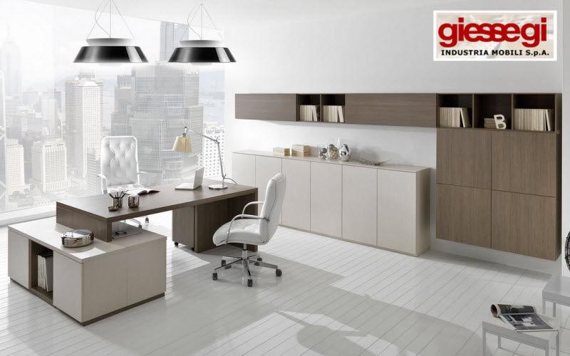 GIEssEGI Executive desk Desks & Tables Office Home office | Design Contemporary