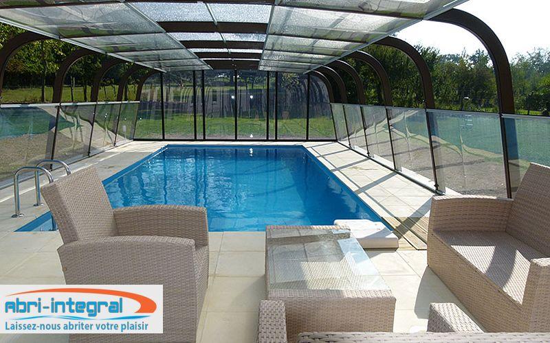 Abri-Integral Freestanding pool enclosure Swimming pool covers Swimming pools and Spa  |