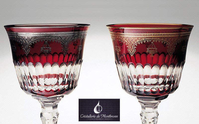 Cristallerie de Montbronn Goblet Glasses Glassware   