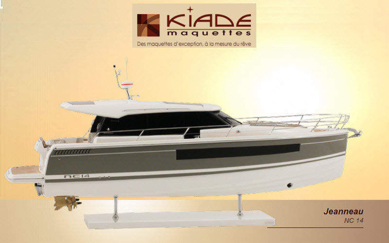 Kiade Maquettes Boat model Models Decorative Items  |