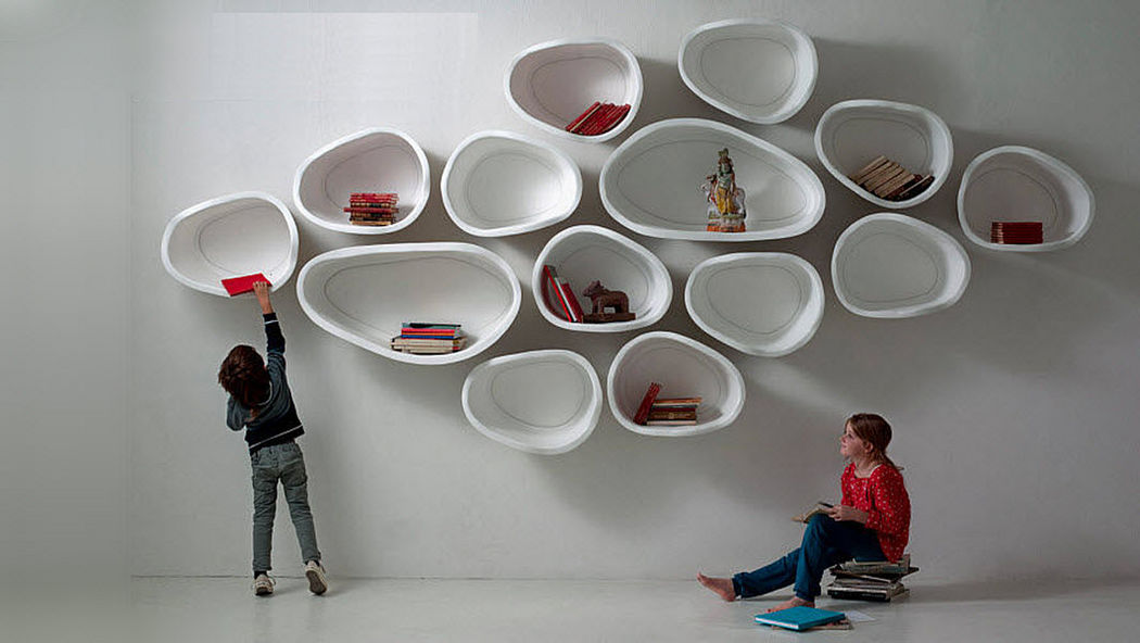 IL LABORATORIO DELL'IMPERFETTO Multi-level wall shelf Shelves Storage  |