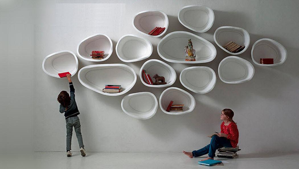 IL LABORATORIO DELL'IMPERFETTO Multi-level wall shelf Shelves Storage  |