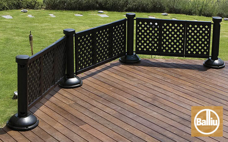 Balliu Export Fence with an openwork design Fences and borders Garden Gazebos Gates...  |