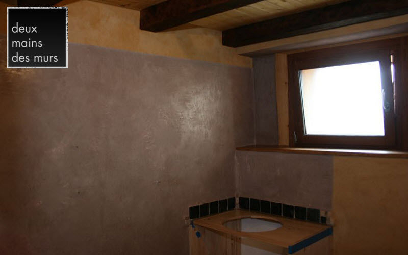DEUX MAINS DES MURS Lime stucco Alternative wall surfaces Walls & Ceilings  |