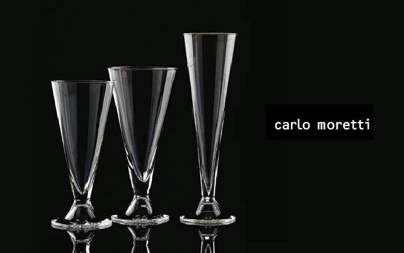 Carlo Moretti Champagne flute Glasses Glassware  |