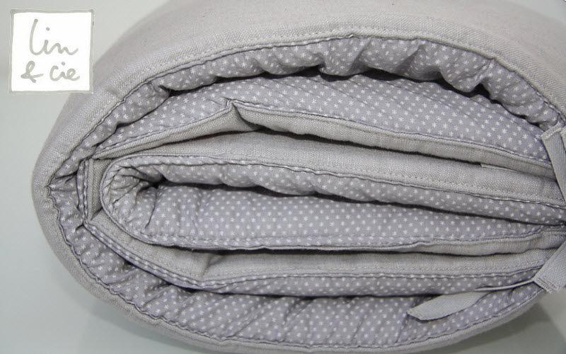 LIN  & CIE Crib bumper pad Baby bed linen Children's corner  |