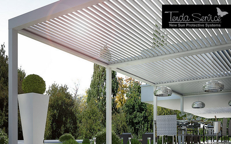 TENDA SERVICE Self-supporting Pergola Huts and gazebos Garden Gazebos Gates...  |