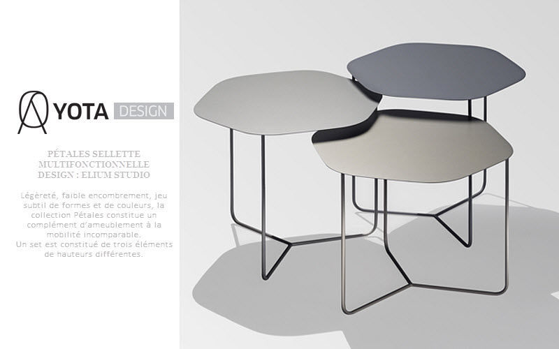 YOTA  DESIGN Pedestal Occasional table Tables and Misc.  |