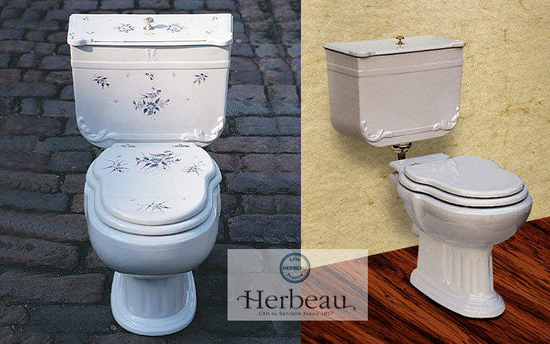 Herbeau Toilet WCs & wash basins Bathroom Accessories and Fixtures  | Cottage