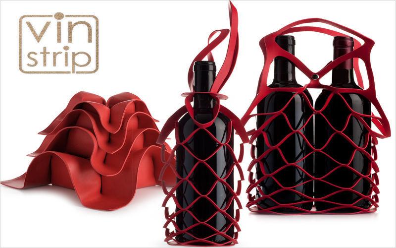 Cavaliere Wine bottle tote Storage Kitchen Accessories  |