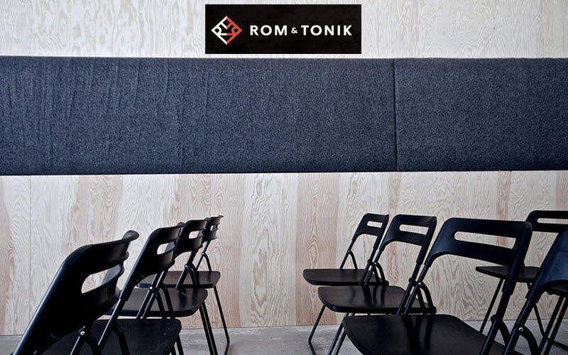 ROM & TONIK Acoustic panel Partitions Walls & Ceilings   