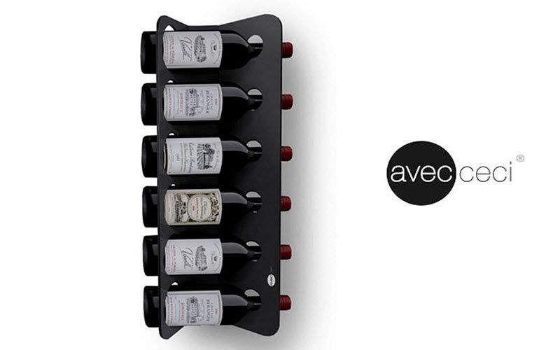 Avec Ceci Bottle rack Racks & supports Kitchen Equipment Kitchen   Design Contemporary