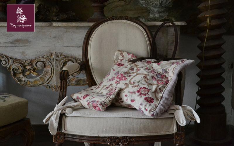 Coquecigrues Chair cushion Pillows & pillow-cases Household Linen  |