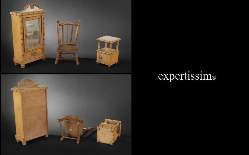 Expertissim Doll furniture Dolls Games and Toys   