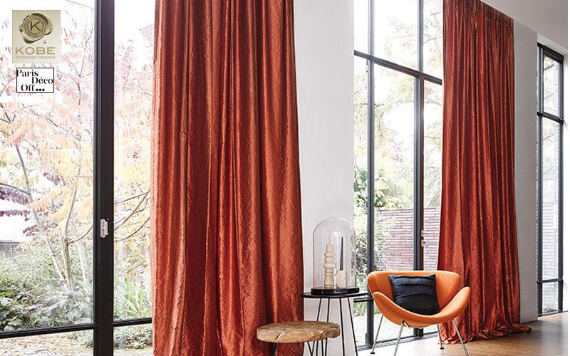 Kobe Hooked curtain Curtains Curtains Fabrics Trimmings   