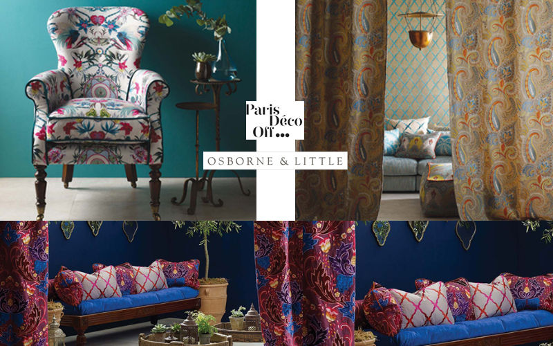 Osborne & Little Furniture fabric Furnishing fabrics Curtains Fabrics Trimmings   